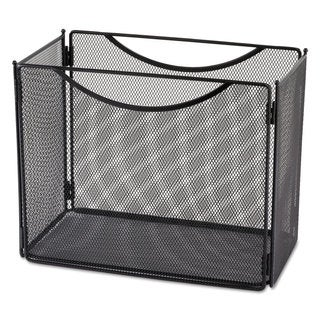 Safco Desktop File Storage Box Steel Mesh 12-1/2-inch wide x 7-inch deep x 10h