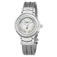 Charriol Women's CE426S.640.001 'Celtic' Mother of Pearl Dial Stainless Steel Swiss Quartz Watch