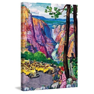 Marmont Hill - 'Picturesque View' Painting Print on Wrapped Canvas
