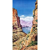 Marmont Hill - 'Grand Canyon 3' Painting Print on Wrapped Canvas