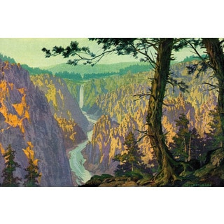 Marmont Hill - 'Grand Canyon 2' Painting Print on Wrapped Canvas