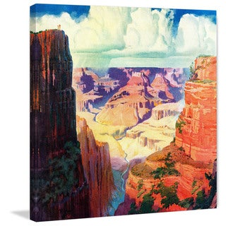 Marmont Hill - 'Grand Canyon 4' Painting Print on Wrapped Canvas