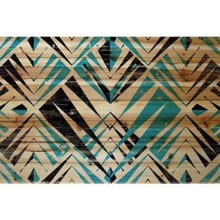 Marmont Hill - Handmade Visions of Teeth Painting Print on Natural Pine Wood