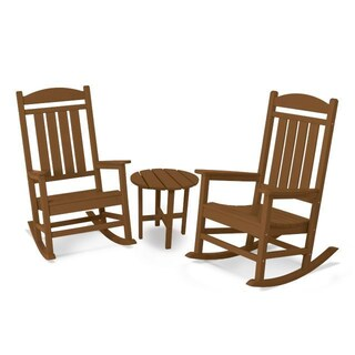 POLYWOOD Presidential Polywood 3-Piece Rocker Set (5 options available)