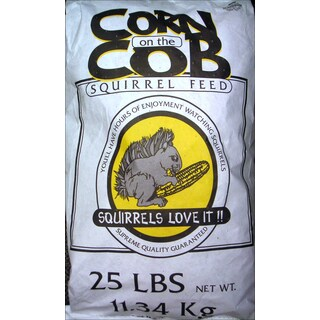 Chuckanut 25 Lbs Corn On The Cob Squirrel Feed