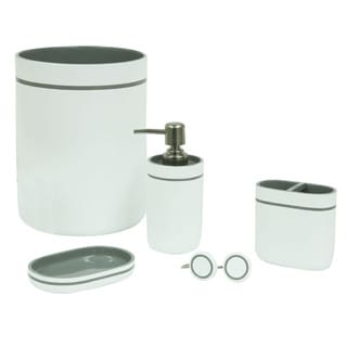 Portico Grey Bath Accessories (4 individual options available)