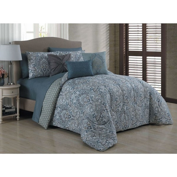 Avondale Manor Louisa 10-piece Bed in a Bag Set