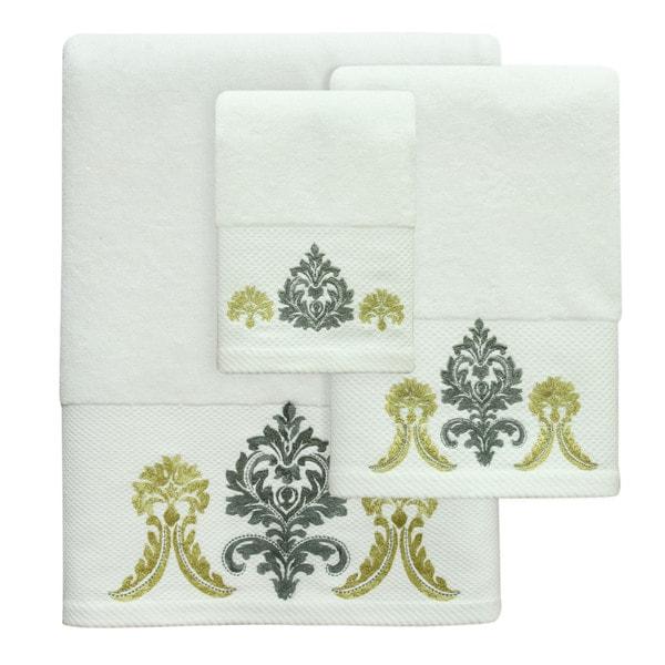 Portico Yellow Towel - Bath / Hand / Wash sold individualy