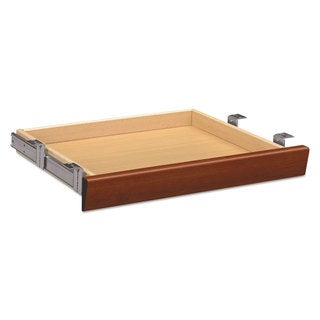 HON Laminate Angled Center Drawer 22-inch wide x 15 3/8-inch deep x 2 1/2h Cognac