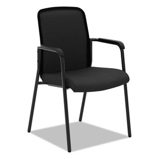 basyx VL518 Mesh Back Multi-Purpose Chair with Arms Black