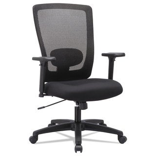 Alera Envy Series Mesh High-Back Swivel/Tilt Chair Black