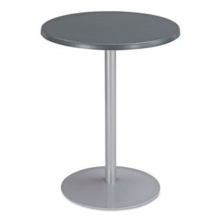 Safco Entourage Table Top Round 24 inches Diameter Anthracite