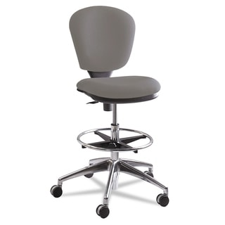 Safco Metro Collection Extended Height Swivel/Tilt Chair Grey Fabric