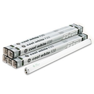 GE 24-inch Fluorescent Tubes 20 Watts 6/Pack