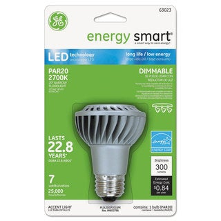 GE energy smart Dimmable LED Bulb Par20 7 Watts