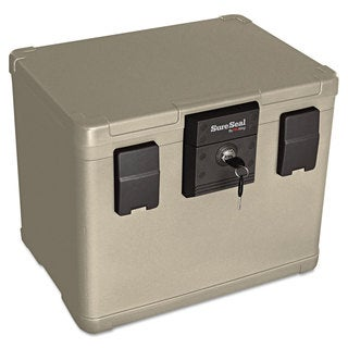 SureSeal By FireKing Fire and Waterproof Chest 0.60 ft3 16-inch wide x 12-1/2-inch deep x 13-inch high Taupe