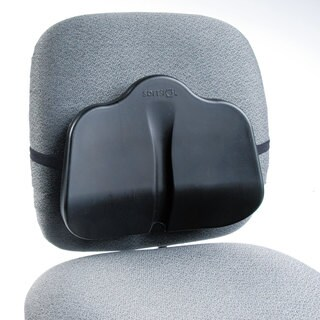 Safco Softspot Low Profile Backrest 13-1/2-inch wide x 3-inch deep x 11-inch high Black