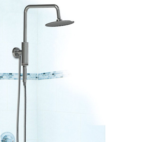 Top Aquarius Shower System With Grohe Retrofit Shower System.