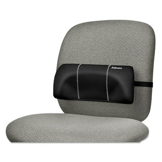 Fellowes Lumbar Back Support 12-inch wide x 3.125-inch deep x 5.187-inch high Black
