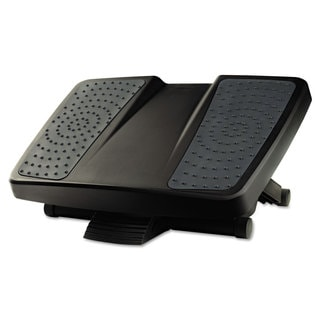 Fellowes Ultimate Foot Support HPS 17 3/4-inch wide x 13 1/4-inch deep x 6 1/2h Black/Grey