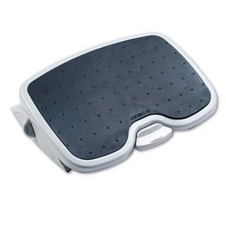 Kensington SoleMate Plus Adjustable Footrest with SmartFit System 3-1/2h to 5h Platinum/Grey