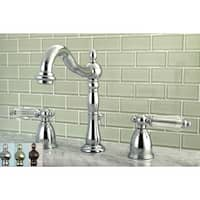 Victorian Crystal Widespread Bathroom Faucet