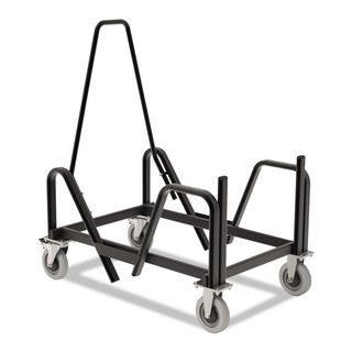 HON Motivate Seating Cart High-Density Stacking Chairs 21-3/8 x 34-1/4 x 36-5/8 Blk