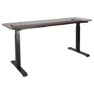 Alera 2-Stage Electric Adjustable Table Base 27 1/4-inch to 47 1/4-inch High Black