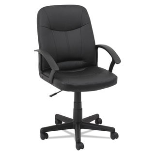 OIF Executive Office Chair Fixed Arched Arms Black