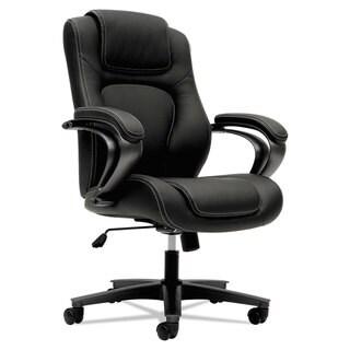 HON VL402 Series Executive High-Back Chair Black Vinyl