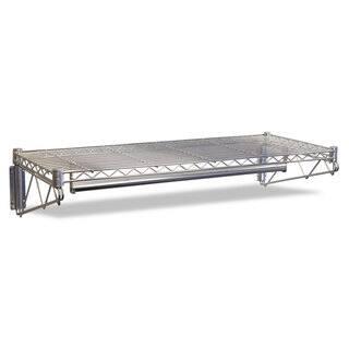 Alera Steel Wire Wall Shelf Rack 48-inch wide x 18-inch deep x 7-1/2-inch high Silver https://ak1.ostkcdn.com/images/products/14003162/P20625799.jpg?impolicy=medium