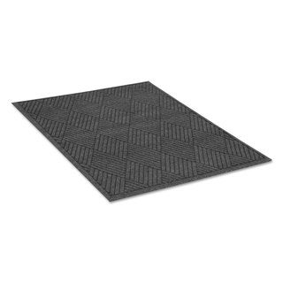 Guardian EcoGuard Diamond Floor Mat Rectangular 36 x 60 Charcoal - N/A