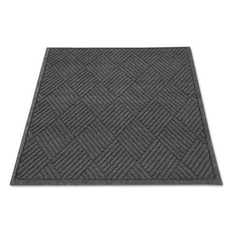 Guardian EcoGuard Diamond Floor Mat Rectangular 24 x 36 Charcoal