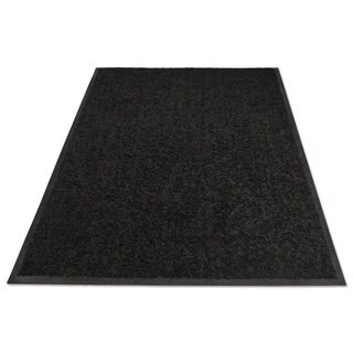 Guardian Platinum Series Indoor Wiper Mat Nylon/Polypropylene 48 x 72 Black