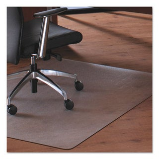 Floortex Cleartex MegaMat Heavy-Duty Polycarbonate Mat for Hard Floor/All Carpet 46 x 53