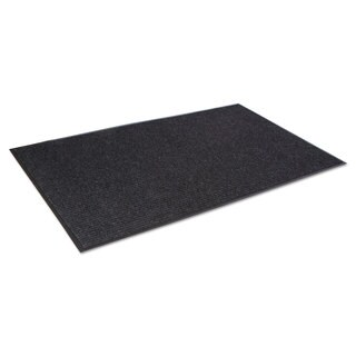 Crown Needle Rib Wipe & Scrape Mat Polypropylene 36 x 60 Charcoal