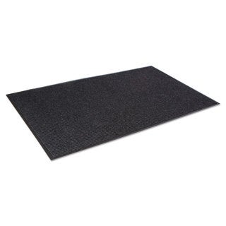Crown Needle-Rib Wiper/Scraper Mat Polypropylene 48 x 72 Charcoal