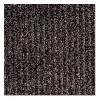 Crown Needle-Rib Wiper/Scraper Mat Polypropylene 36 x 48 Brown