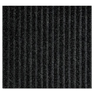 Crown Needle-Rib Wiper/Scraper Mat Polypropylene 36 x 48 Charcoal