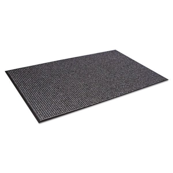 Crown Oxford Wiper Mat 48 x 72 Black/Grey