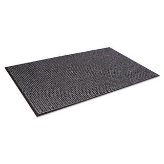 Crown Oxford Wiper Mat 48 x 72 Black/Grey