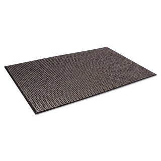Crown Oxford Wiper Mat 48 x 72 Black/Brown