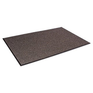 Crown Oxford Wiper Mat 36 x 60 Black/Brown