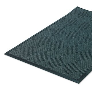 Crown Super-Soaker Diamond Mat Polypropylene 34 x 115 Slate