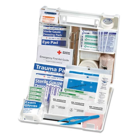 First Aid Only Sports First Aid Kit for 10 People 71 Pieces/Kit