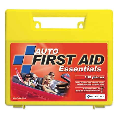 First Aid Only Essentials First Aid Kit for 5 People 138 Pieces/Kit