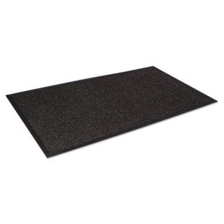 Crown Super-Soaker Wiper Mat with Gripper Bottom Polypropylene 34 x 119 Charcoal