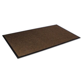 Crown Super-Soaker Wiper Mat with Gripper Bottom Polypropylene 34 x 119 Dark Brown