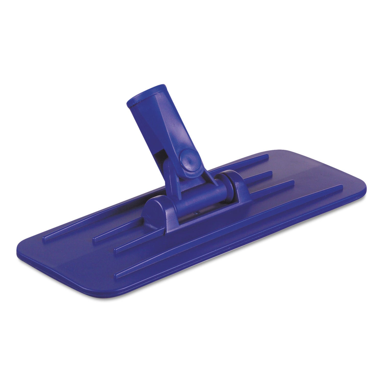 Boardwalk Swivel Pad Holder Plastic Blue 4 x 9 12/Carton ...