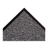 Crown Dust-Star Microfiber Wiper Mat 36 inches x 60 inches Charcoal